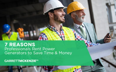 7 Reasons Professionals Rent Power Generators to Save Time and Money