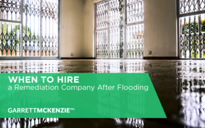 When to Hire a Remediation Company After Flooding