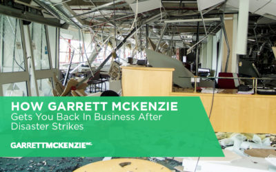 How Garrett McKenzie Gets You Back in Business After Disaster Strikes